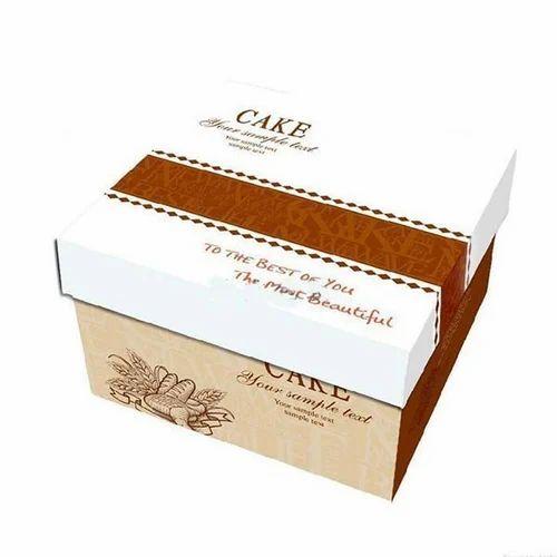 Printed Cake Box At Rs 20 Piece Kirti Nagar New Delhi ID
