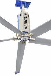 Metal 5 Aerofoil Blade Ceiling Fan, Warranty: 3 Year