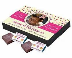 Chocolates Choco ManualART - Invitation For Children'S Birthday Gifts