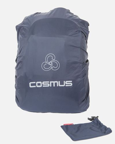 Navy Blue Polyester Rain Cover With Pouch