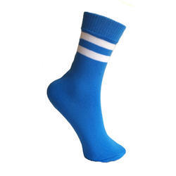 Cotton Blue School Uniform Socks