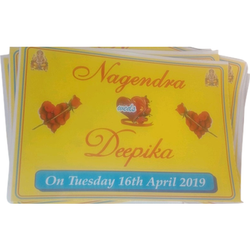 Paper Designer Wedding Card
