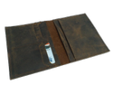 Vintage Leather Passport Holder