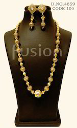 Antique Traditional Beaded Necklace Set