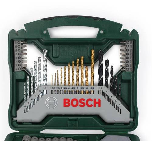 Fabulous Bosch X-Line 70-Piece Accessory case with Multifunction Tool FT09