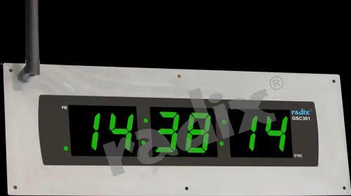 GPS Master Slave Clock - GPS - RF Slave Clocks - GSC301/401