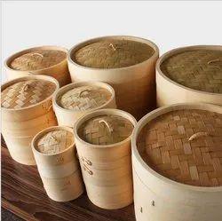 Bamboo Food Steamer