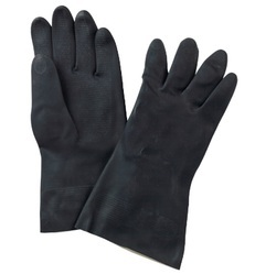 SISS Plain Neoprene Rubber Hand Gloves