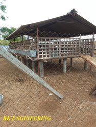 Goat Farm Fabricated Shed
