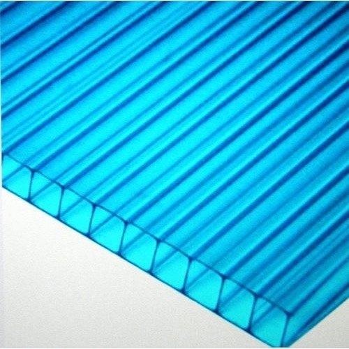 Blue Polycarbonate Roofing Sheet, 2-5 mm