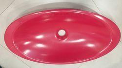 Oval Table Top Basin Corian