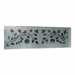 Decorative Etching Glass, Thickness: 2-5 mm