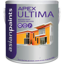Asian Paints Apex Ultima Weather Proof Emulsion Paint, Packaging: 20 L