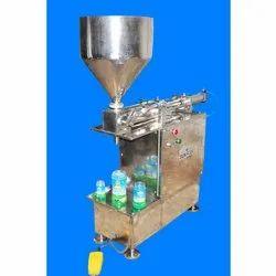 Semi Automatic Paste Pouch Filling Machine