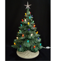 Decorative Glass Christmas Trees