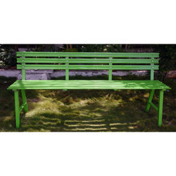 Perforated Deluxe Garden Bench
