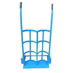 Double Gas Cylinder Hand Trolley
