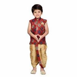 Baby Angrakha Dhoti Pant Set For Boys (Set of 10)