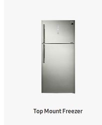 Samsung Top Mount Freezer Refrigerator