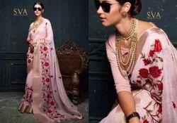 Latest Designer Pure Organza Silk Saree