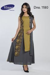 Half Double Layer Kurti