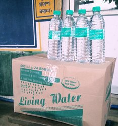 Clear PET 500ml/600ml Mineral Water, Packaging Type: Cartoons