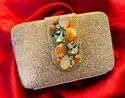 Beautiful Brocade Smart Clutch