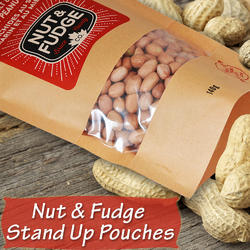 Nut and Fudge Stand up Pouches