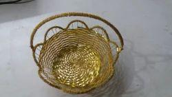 MJ Gold Basket
