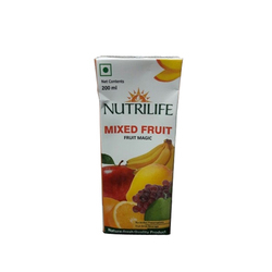 Nutrilife Natural Mixed Fruit Juice, 200 Ml