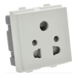 GM 6 Amp Electrical Socket white