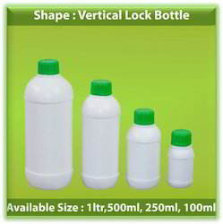 HDPE Vertical Lock Bottles