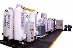 PSA Based Industrial and Medical Oxygen Cylinder Re filling Plant
