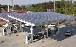 Solar Power Pack For Fuel Stations