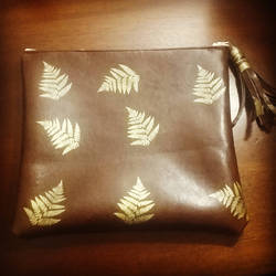 Gold Leafing Printed Bags