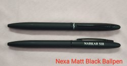 Nexa Matt Black Ball Pen