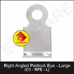 Lockout Safety Right Angled Padlock Eye - Large