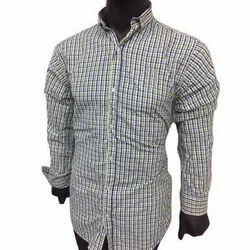 Formal Wear Mens Full Sleeve Check Shirts