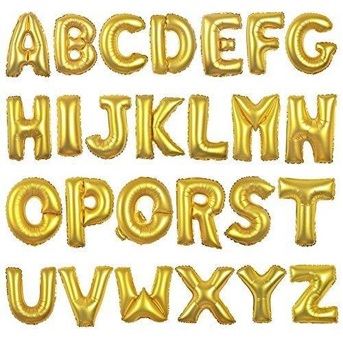 smartcraft alphabet foil balloon from a z 17 inch for birthday