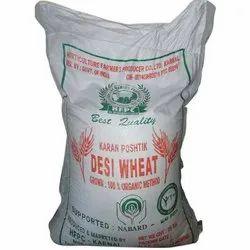 Indian Organic Desi Wheat, Packaging Size: 25 Kg