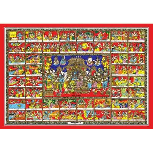 Sampoorna Ramayana Framed Printing - ART, Guntur | ID