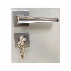Bedroom Doors Mortise Stainless Steel Door Handle Lock, For Security