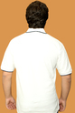 White Color Neck T-shirts