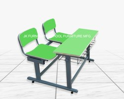 Two Seater Colored School Desk