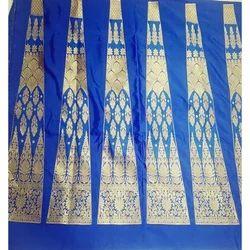 Blue and Golden Banarasi Lehnga