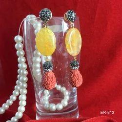 Ladies Earring Set, Packaging Type: Box