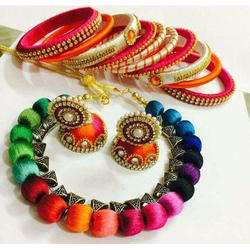 Thread Jewellery Set