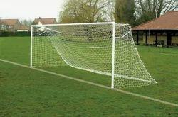 White Football Goal Post