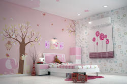kids room Interior And Turnkey Project, Work Provided: Wood Work & Furniture