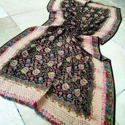 Ladies Printed Woolen Shawl